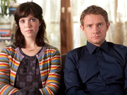 En la película de 2011 'Intercambio de parejas', Ellie (Mandy Moore) y Alvin (Martin Freeman) están al borde de la ruptura tras varios años de relación.
