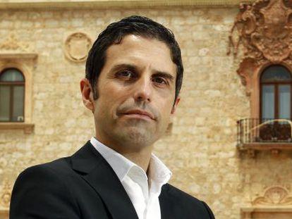 El portavoz del PSOE en Alcalá, Javier Rodríguez.