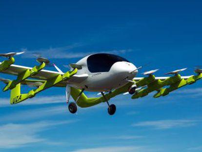 Los coches aéreos de Kitty Hawk pueden recorrer hasta 100 kilómetros en un solo viaje y alcanzar una velocidad de 150 kilómetros por hora