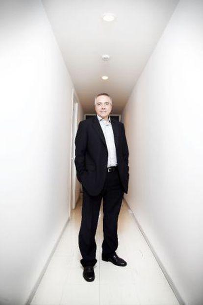 Pere Navarro, candidato del PSC a las elecciones del domingo.