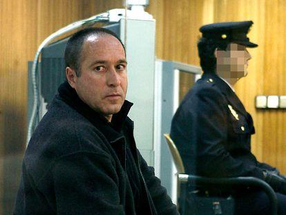El etarra Henri Parot en un juicio en la Audiencia Nacional en 2007.