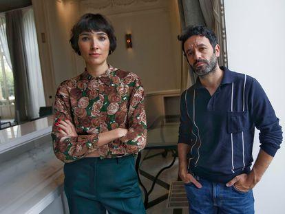 Isabel Peña y Rodrigo Sorogoyen, creadores de 'Antidisturbios'