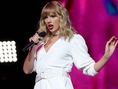 Taylor Swift, en Londres (el Reino Unido), el pasado 8 de diciembre.