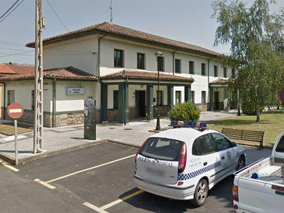 Comisaria del Policía Local de la localidad de Los Corrales de Buelna (Cantabria).