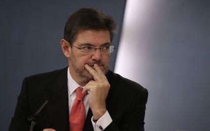 Rafael Catala, ministro de Justicia, en una imagen de archivo.