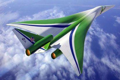 El avion supersónico que basado en el diseño de la Universidad de Stanford está construyendo la empresa Lockheed Martin