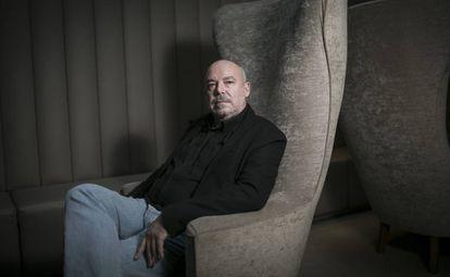 Juan Francisco Ferré, retratado en Barcelona el mes pasado.