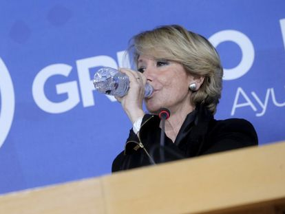 Esperanza Aguirre, en una imagen de archivo.