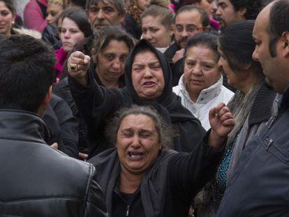 Funeral de la víctima en Pontevedra
