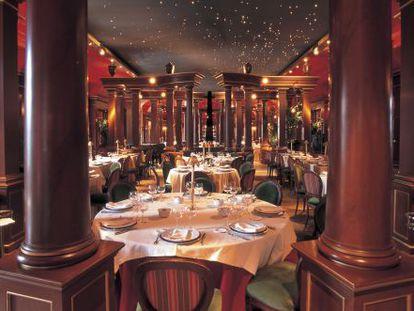 Restaurante del Teatro Real de Madrid.