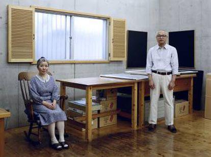 Kyoko y Tomoharu Murakami, Tokio, 1991
