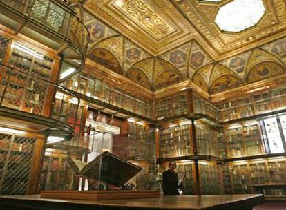 """En la Morgan Library """"está el mundo antiguo del papel, que hasta hace muy poco parecía que fuera a durar para siempre""""."""