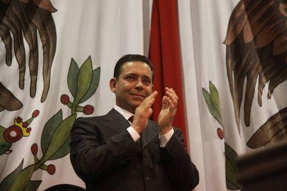 El exgobernador de Tamaulipas Eugenio Hernández, en una imagen de archivo.