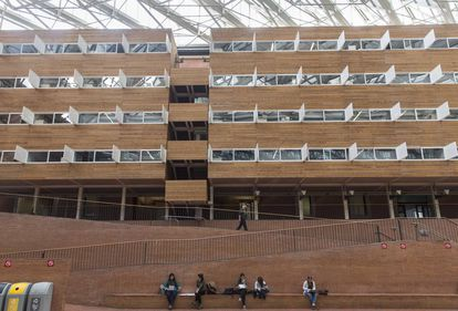Campus de la Universidad Pompeu Fabra de Barcelona.