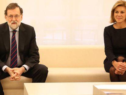 Rajoy recibe a Jens Stoltenberg, secretario general de la OTAN.