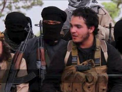 Fotograma de un vídeo de propaganda difundido por el ISIS.