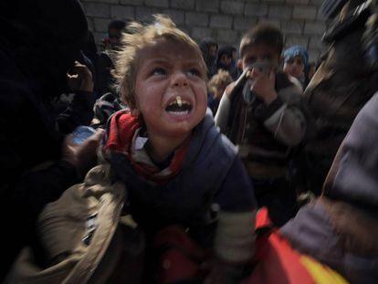 Víctimas (Irak, 2017).