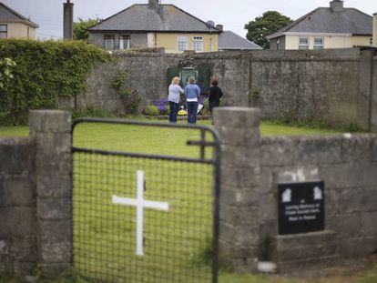 El antiguo orfanato católico de Tuam, en el Condado de Galway, en 2014