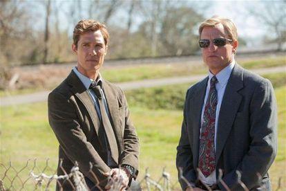 Matthew McConaughey y Woody Harrelson, dos de los protagonistas de 'True Detective'.