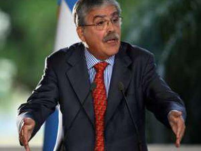El ministro argentino de Planificación, Julio de Vido