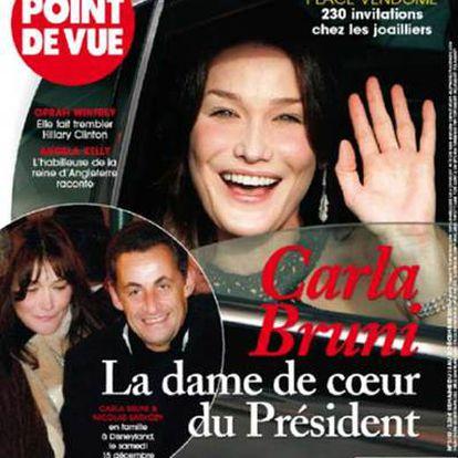 La portada de la revista <i>Point de Vue</i> muestra mañana las imágenes de la pareja.