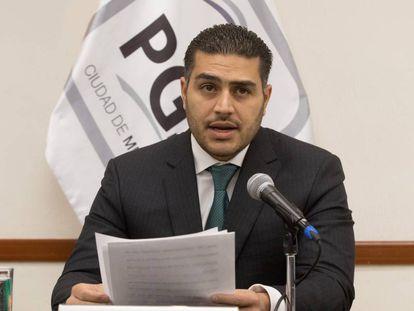 Omar García Harfuch, el pasado julio en Ciudad de México.