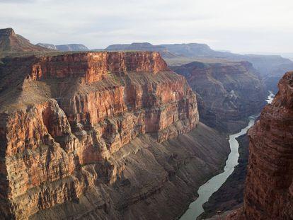 El Gran Cañón, en Arizona, es uno de los parques nacionales de EE UU en los que se han recogido microplásticos.