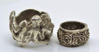 Los anillos de Smith donados al Museo de Arte de Cerdanyola.