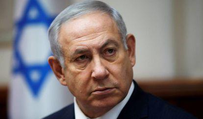El primer ministro israelí, Benjamín Netanyahu, el 25 de noviembre en Jerusalén.