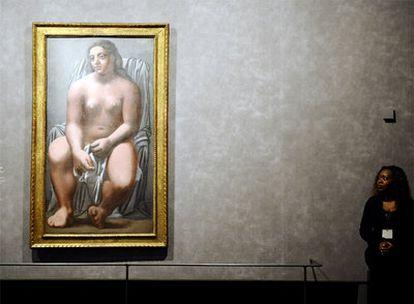 <i>Grande baigneuse,</i> una de las obras de Picasso incluidas en la exposición del Grand Palais.