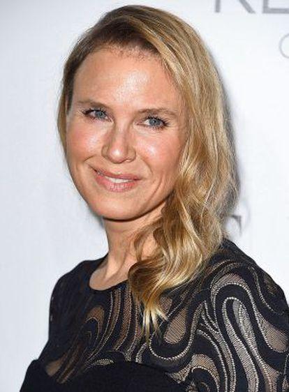 Renée Zellweger, la actriz que sorprendió al mundo con un rostro transfigurado por la cirugía.