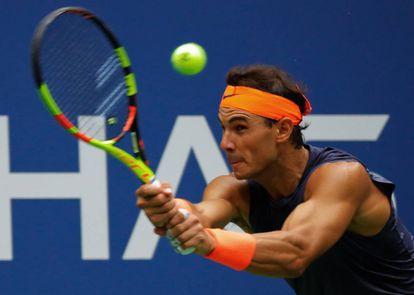 Rafa Nadal, en el US Open.