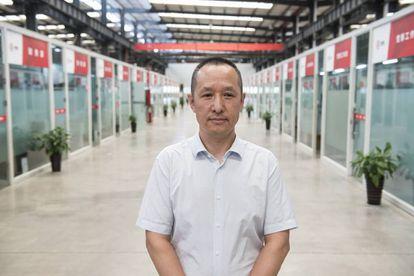 Zhao Qiang, responsable de Relaciones Públicas de Huochebang