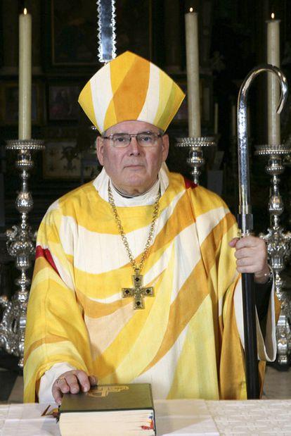 Roger Vangheluwe, ex obispo de Brujas acusado de abusos, en 2006.