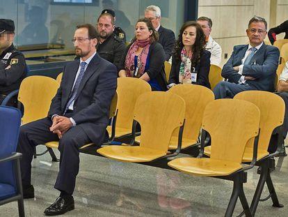 Dorado, durante el juicio en la Audiencia Nacional.