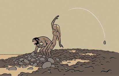 Ilustración de Max.