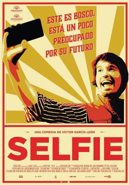 Cartel promocional de la película 'Selfie'