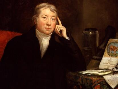 Retrato de Edward Jenner (James Northcote, 1803).