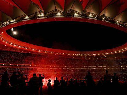 El Wanda Metropolitano, este sábado.