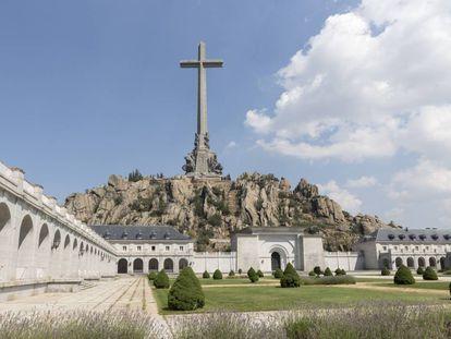Complejo del Valle de los Caídos, de donde serán exhumados los restos de Franco a fibnales de este mismo mes. |