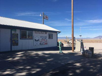 Zona 51, en Nevada (EE UU).
