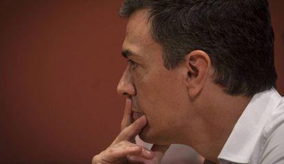 El exlíder del PSOE Pedro Sánchez.