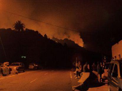 El fuego, que ha quemado 2.000 hectáreas, se originó después de que un ciudadano alemán quemase el papel higiénico usado para su aseo personal