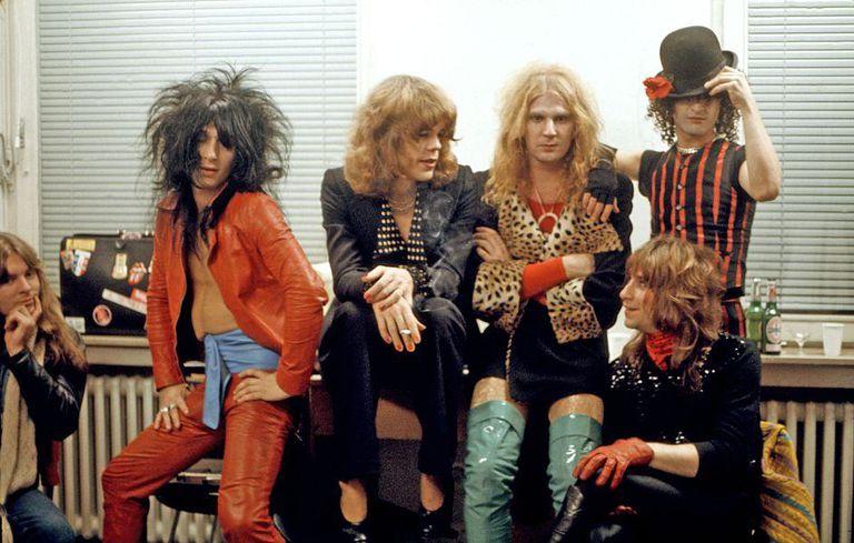 La banda New York Dolls.