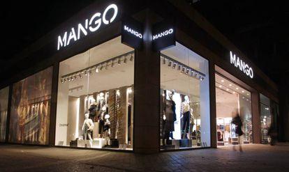 Una tienda de Mango en la calle Orense, en Madrid