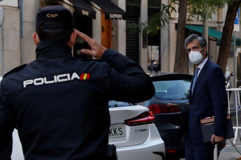 El presidente del Consejo General del Poder Judicial (CGPJ), Carlos Lesmes, el pasado mes de septiembre en Madrid.