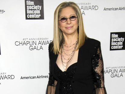 Barbra Streisand, en el Lincoln Center de Nueva York, este sábado.