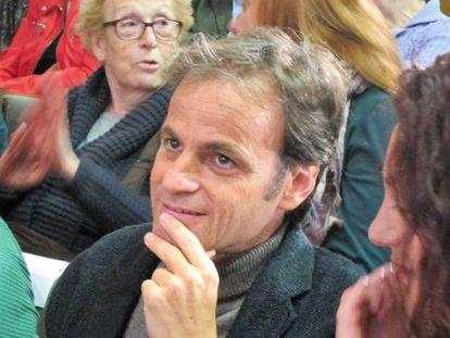 El candidato de En Comú Podem (ECP) por Barcelona, Jaume Asens.