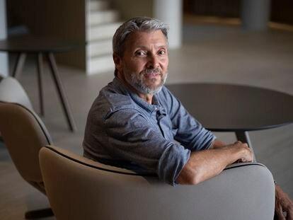 El psicólogo Gary Baker, este lunes en Sevilla.