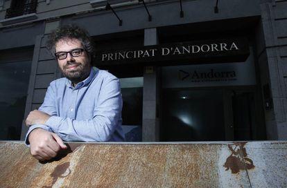 Sergio del Molino, fotografiado en Madrid.